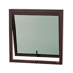 Maxim-Ar 1 Seção em Alumínio Corten c/ Vidro Mini Boreal - Brimak Confort