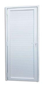 Porta de PVC Itec Fechada Palheta - Brimak