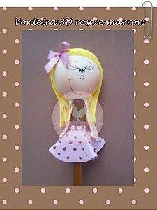 Ponteira 3D menina