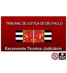 Escrevente TJ/SP interior - 989 questões comentadas (com teoria, resumos e 50 simulados)