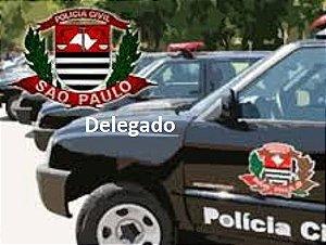 Polícia Civil/SP - Delegado (edital publicado - provas 29/07) R$ 50