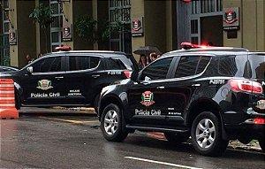 Agente de Polícia e Auxiliar de Papiloscopista - Polícia Civil/SP - VUNESP (amostra em http://gg.gg/pcsp2018 )