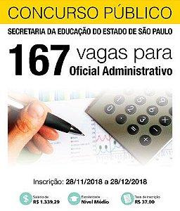 Oficial Administrativo - Secretaria da Educação SP (prova 10/02)