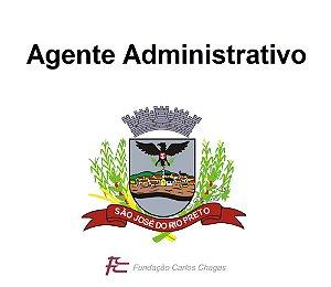 Prefeitura de São José do Rio Preto (provas em 20/10/2019) - Agente Administrativo