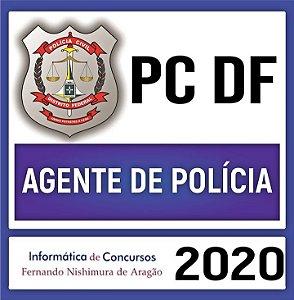 Polícia Civil/DF (pré-edital) - Agente de Polícia (teoria, questões e simulados comentados)