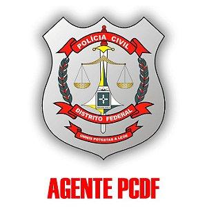Polícia Civil/DF (pós-edital) - Agente (teoria e 1.037 questões comentadas, em 441 páginas)