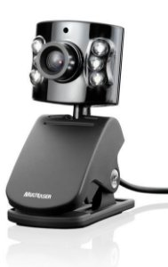 Webcam 1.3MP Plug & Play Multilaser