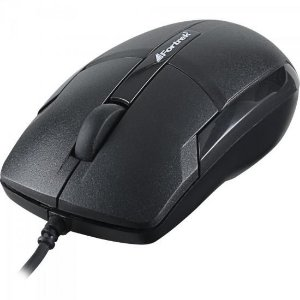 Mouse Óptico USB Preto Fortrek OM-101BK