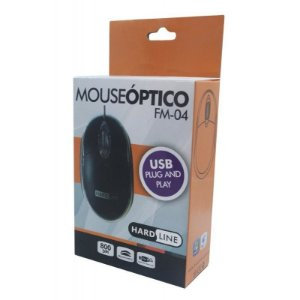 Mouse Óptico USB Hardline FM-04