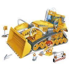 Pá Carregadeira - 308 Peças - Compatíveis Com Lego