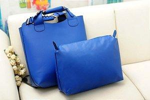Bolsa Vintage Azul
