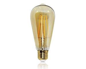 LÂMPADA LED FILAMENTO 4W ST64 2200K OPUS