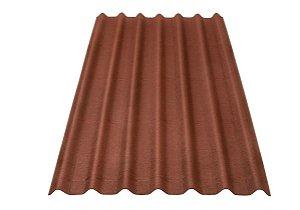 Telha Ecológica Stilo 200 cm x 95 cm - Vermelha