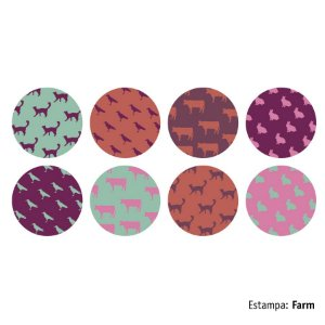 Adesivo Decorativo Aroeira Gloo Farm