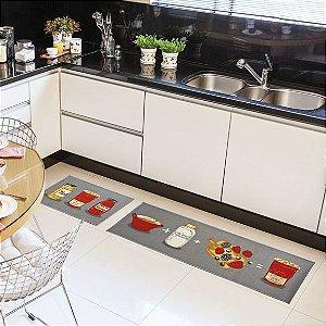 Tapete para cozinha no atacado - Geleia De Frutas 45X75cm