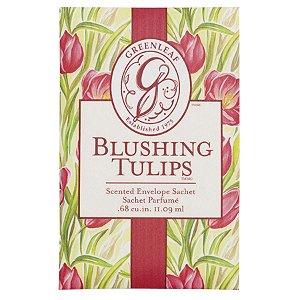 Sachê Perfumado Greenleaf Blushing Tulips no Atacado - Small/Pequeno - CAIXA COM 30 UNIDADES