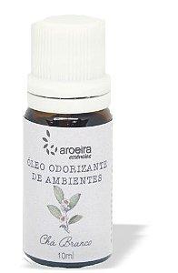 Óleo Perfumado Aroeira Essencias 10ml - Gotejador  - Chá Branco