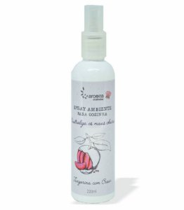 Spray Neutralizador de Odores Gourmet Aroeira Essencias 220ml - Spray - Tangerina Cravo