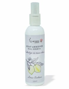 Spray Neutralizador de Odores Gourmet Aroeira Essencias 220ml - Spray - Limão Siciliano