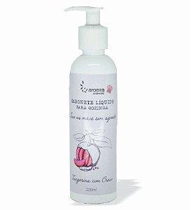 Sabonete Líquido Gourmet Aroeira Essencias 220ml - Válvula Pump - Tangerina Cravo