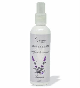 Spray Ambiente Aroeira Essencias 220ml - Spray - Lavanda