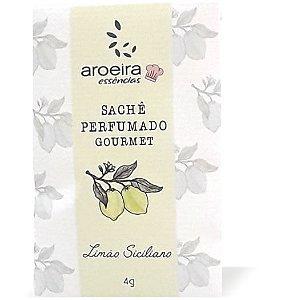 Sachê Perfumado Aroeira Essências 4g - Limão Siciliano