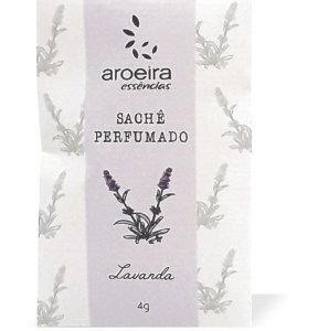 Sachê Perfumado Aroeira Essências 4g - Lavanda