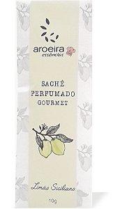 Sachê Perfumado Aroeira Essências 10g - Limão Siciliano