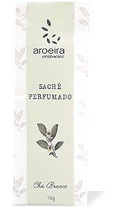 Sachê Perfumado Aroeira Essências 10g - Chá Branco