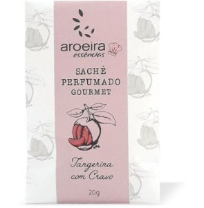 Sachê Perfumado Aroeira Essências 20g - Tangerina Cravo
