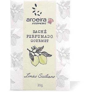 Sachê Perfumado Aroeira Essências 20g - Limão Siciliano