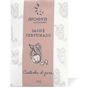 Sachê Perfumado Aroeira Essências 20g - Castanha-do-pará