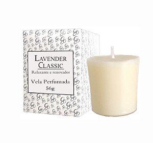Vela Aromática de Ambientes Greenone 56g Branca - Lavender Classic