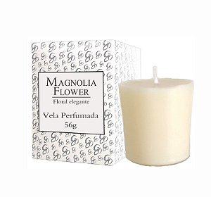 Vela Aromática de Ambientes Greenone 56g Branca - Magnolia Flower