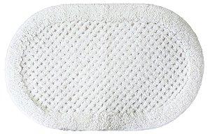 Tapete Aroeira Camboriú Branco 40x60cm