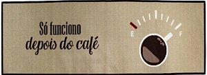 Tapete Passadeira Aroeira Dia a Dia Café Funcional 50x160cm