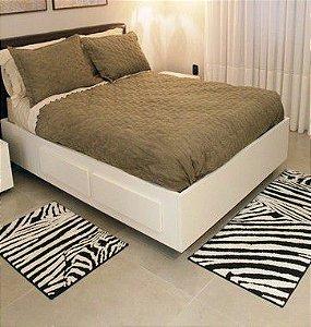 Tapete Passadeira Aroeira Zebra 55x140cm