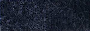 Tapete Passadeira Aroeira Ivy Grafite 55X140cm