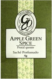 Sachê Perfumado Greenone 4g - Apple Green Spice