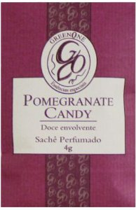 Sachê Perfumado Greenone 4g - Pomegranate Candy