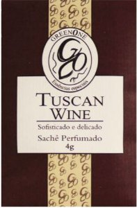 Sachê Perfumado Greenone 4g - Tuscan Wine