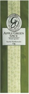 Sachê Perfumado Greenone 12g - Apple Green Spice
