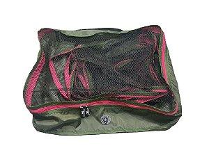 Kit Nylon verde com Pink