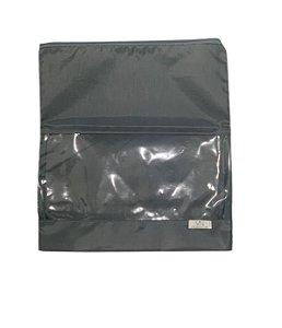 Saquinho de nylon cinza