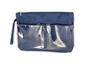 Necessaire bolsos Ju azul marinho