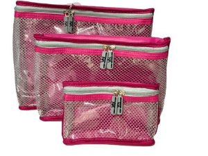 Kit nylon plastificado pink