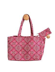 Bolsa bandana rosa