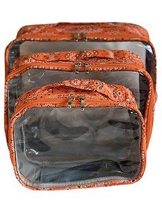 Kit Daslu bandana laranja