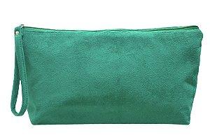 Necessaire Vertical G plush verde