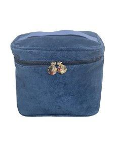 Frasqueira plush azul